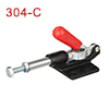 Push Pull Quick-Release Antislip Toggle Clamp 500lbs Capacity 304-C
