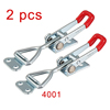 Pull Button Quick-Release Triangle Lever Latch Type Toggle Clamp 220 lbs Capacity 4001 2pcs
