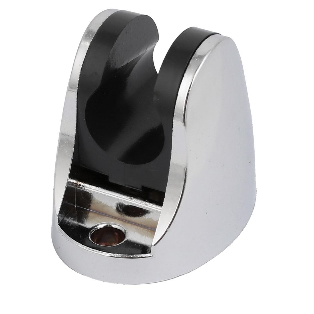 Aluminum Adjustable Wall Mount Bracket Shower Accessory Silver Tone