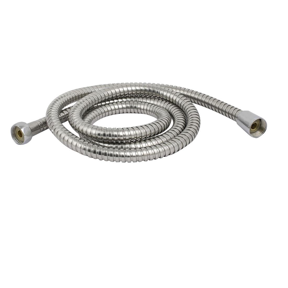 1.5M Length 304 Stainless Steel Flexible Handheld Shower Hose Plumbing Fitting