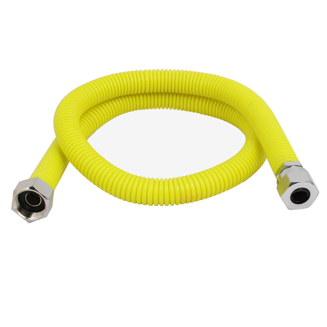0.8M Length 304 Stainless Steel Flexible Gas Range Connector Plumbing Fitting