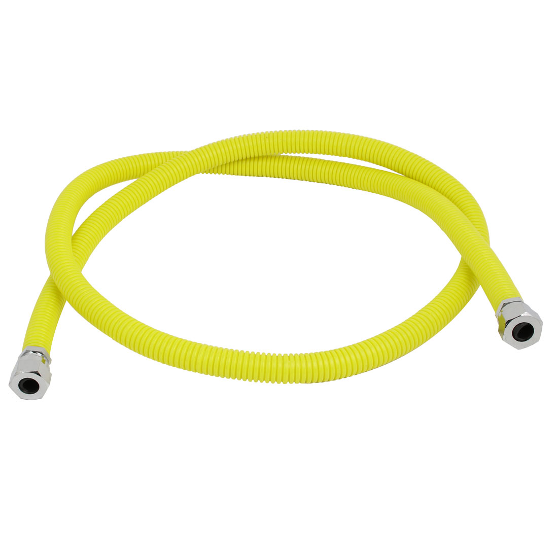 304 Stainless Steel 1.5M Length Flexible Gas Range Connector Pipe Supply Hose