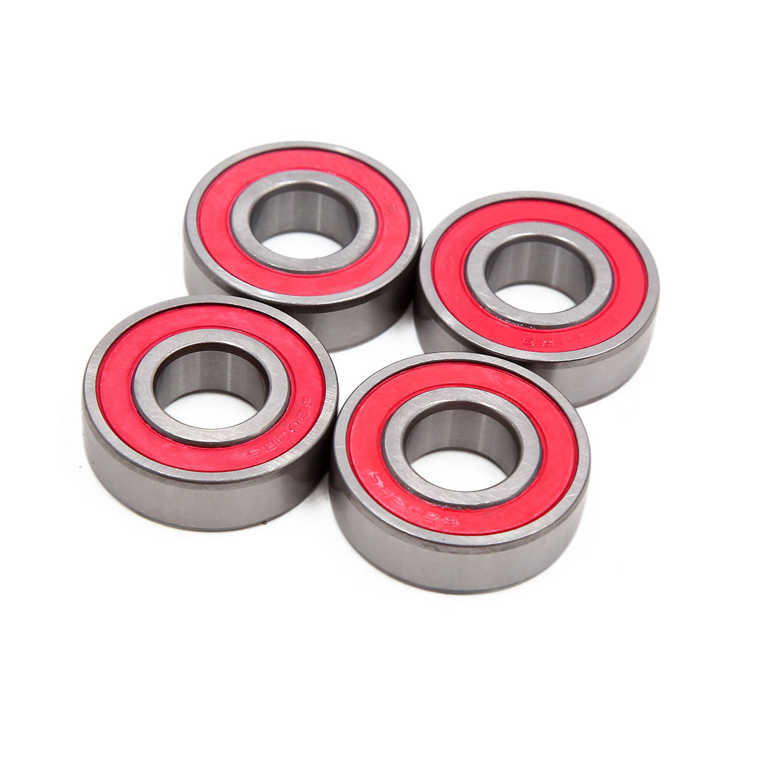4pcs 6203RS Scooter Motorcycle Sealed Deep Groove Ball Bearing 40 x 17 x 12mm