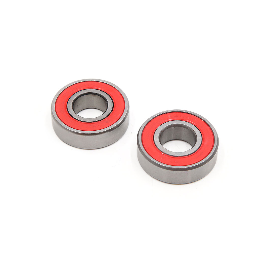 2pcs 6203-2RS Scooter Motorcycle Sealed Deep Groove Ball Bearing 40 x 17 x 12mm