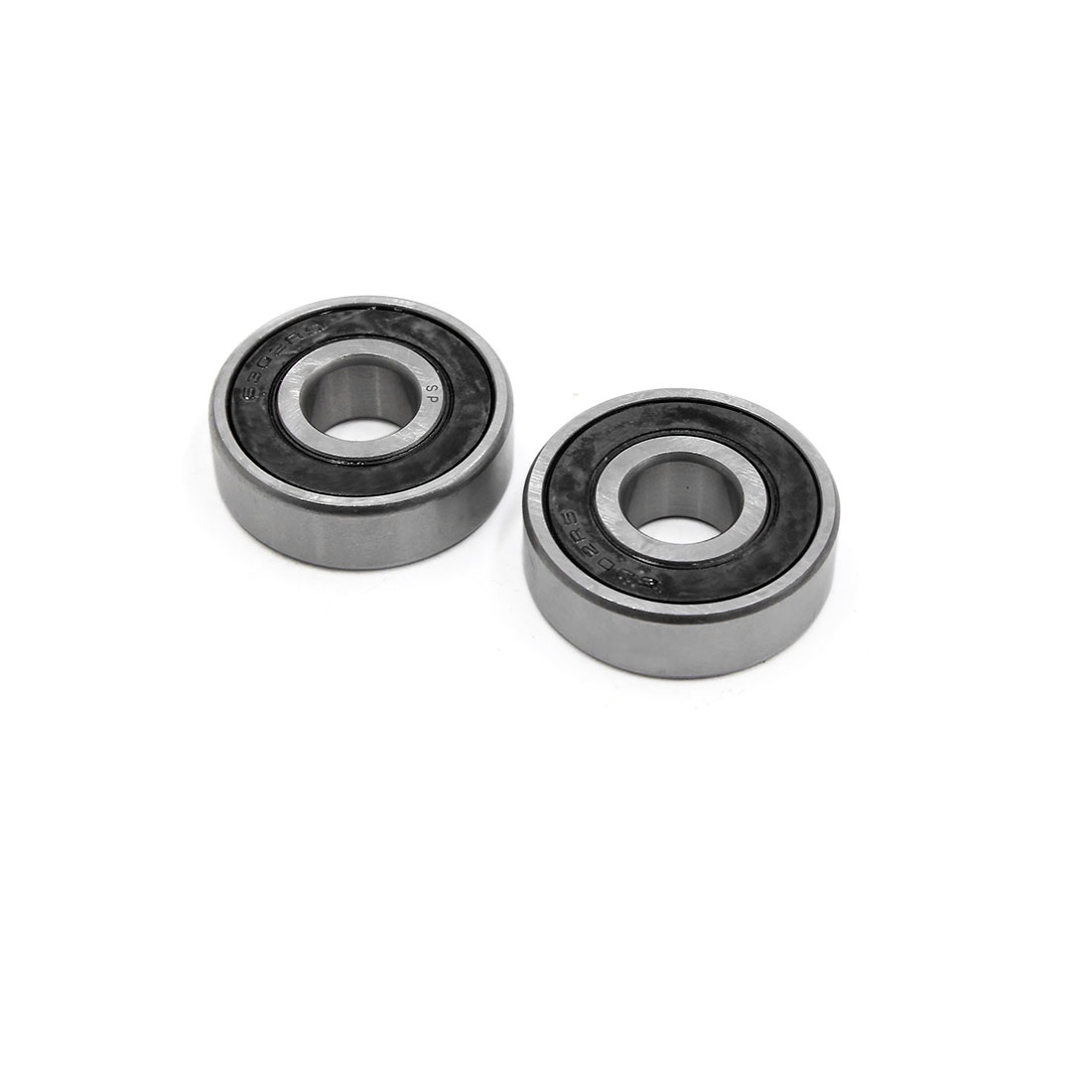 2pcs 6302-2RS Scooter Motorcycle Sealed Deep Groove Ball Bearing 42 x 15 x 13mm