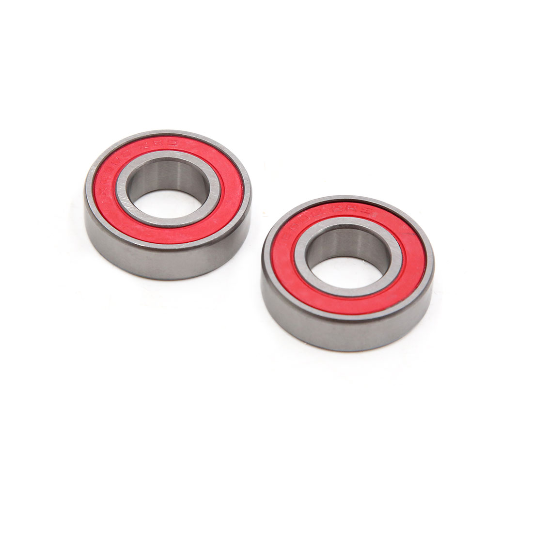 2pcs 6002-2RS Scooter Motorcycle Sealed Deep Groove Ball Bearing 32 x 15 x 9mm