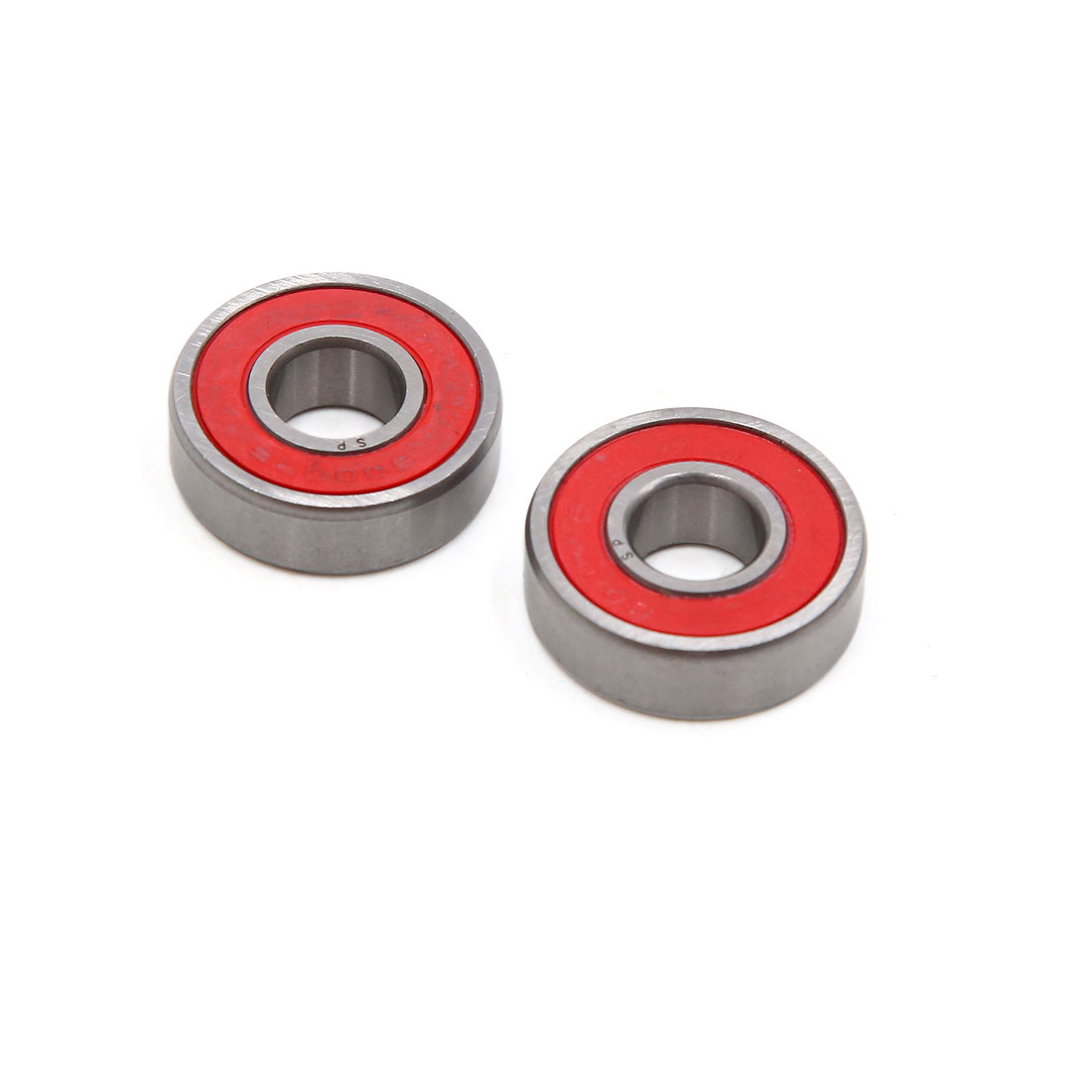 2pcs 6000-2RS Scooter Motorcycle Sealed Deep Groove Ball Bearing 26 x 10 x 8mm