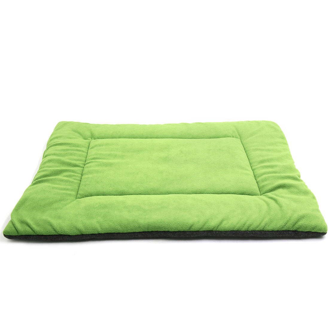 Fleece Reversible Mat Cushion Pad Bed for Dog Cat Puppy Pet Green M
