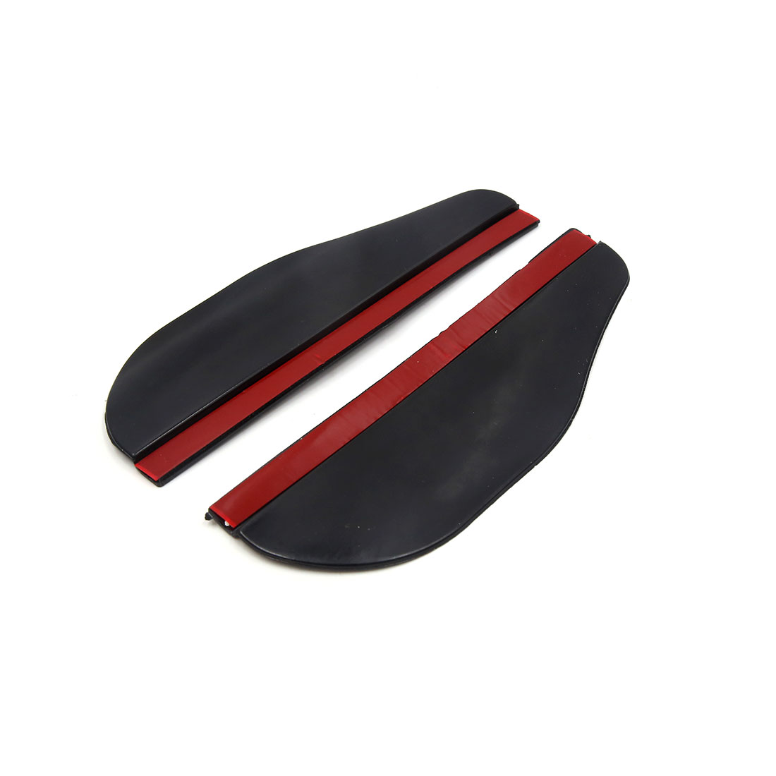 Pair Black Car Side Rear View Mirror Rainproof Blade Cover Protector