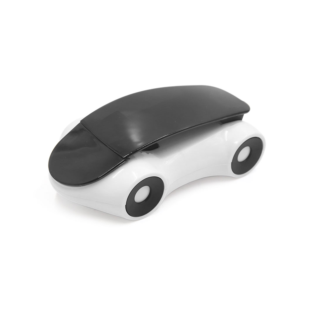 White Black Plastic Car Dashboard Cell Mobile Phone Holder Mount Stand
