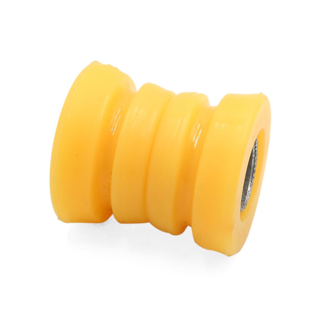 48 x 19 x 9mm Yellow Rubber Shock Absorber Bushings Damper for Auto Car