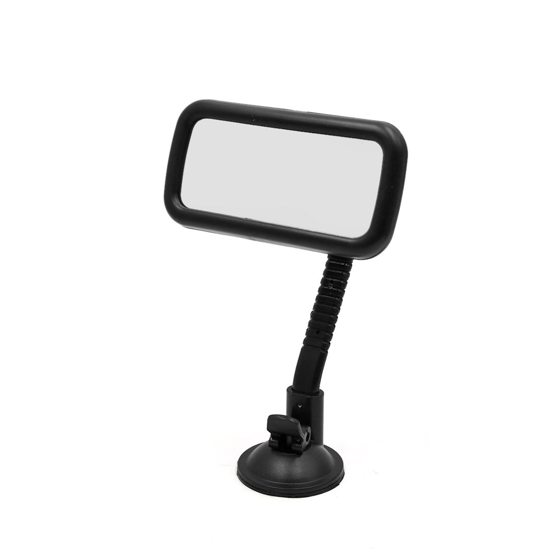 Black Plastic Shell Suction Cup Fixed Car Blind Spot Parking Rearview Mirror