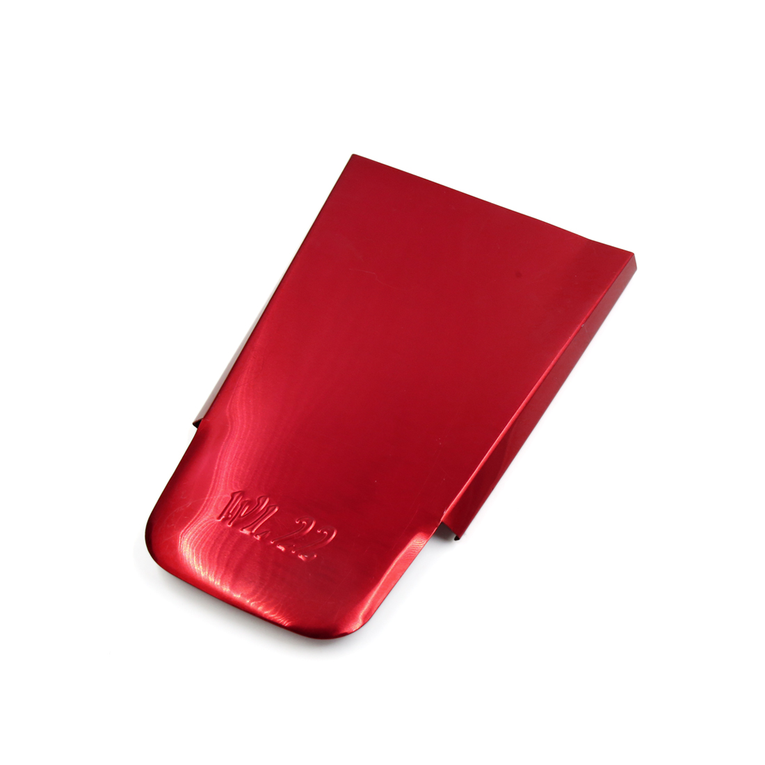 Red Aluminum Alloy Motorcycle Tail Rear Fender Flap Mudguard Plate