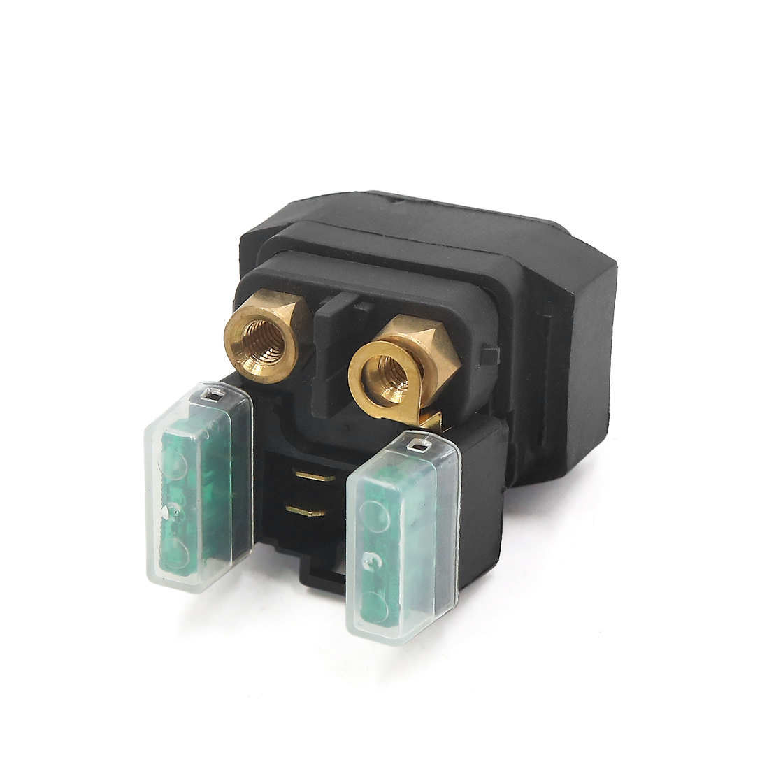 Metal Plastic 4 Pins Motorcycle Motor Starter Relay Solenoid Fits for Yamaha