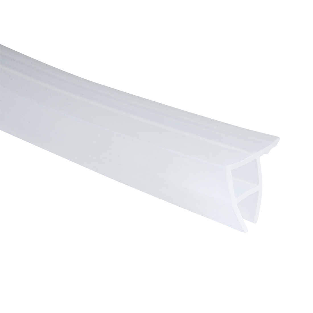 2.5M 98-inch Frameless Window Shower Door Seal Clear for 10mm Glass