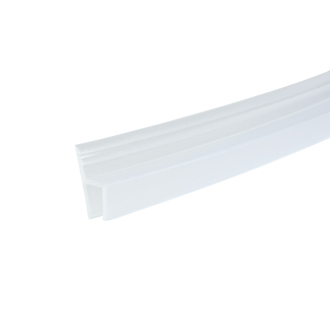 36-inch h Shaped Frameless Window Shower Door Seal Clear for 6mm Glass
