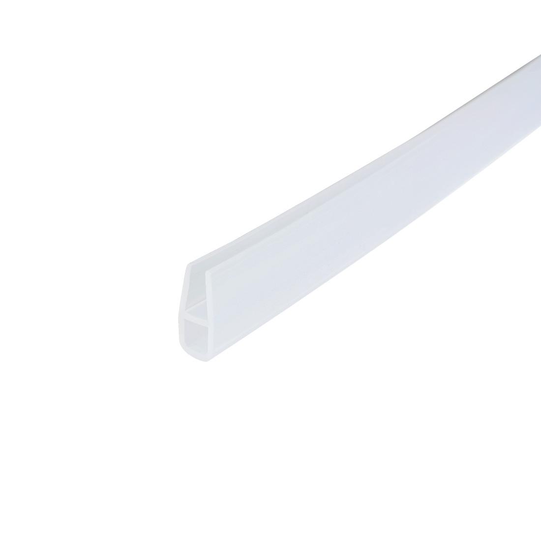 36-inch U Shaped Frameless Window Shower Door Seal Clear for 6mm Glass