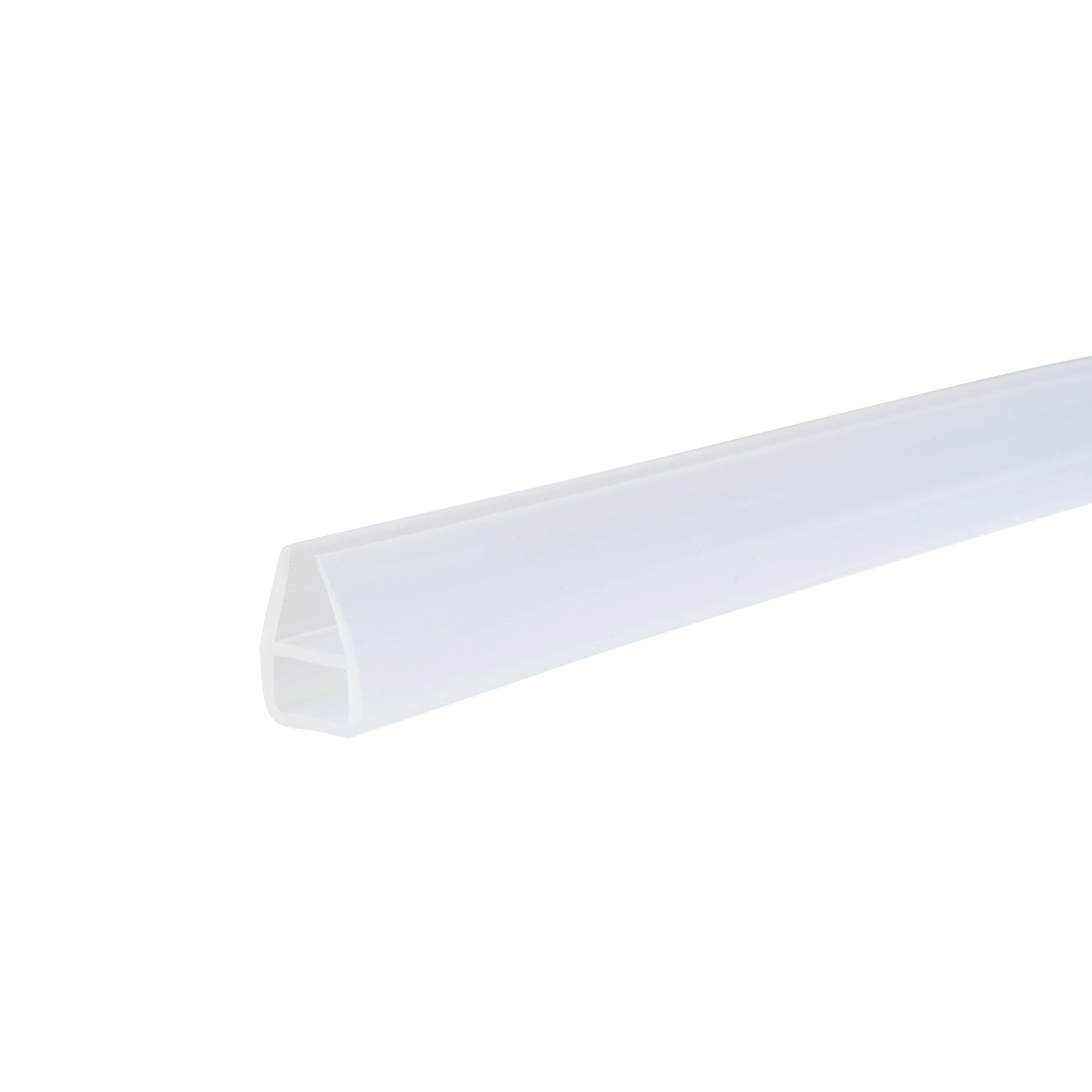 36-inch U Shaped Frameless Window Shower Door Seal Clear for 8mm Glass