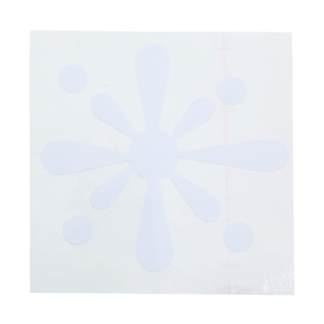 White Car Sticker Decal Decorative Accessories for Auto Vehicle Motorcycle