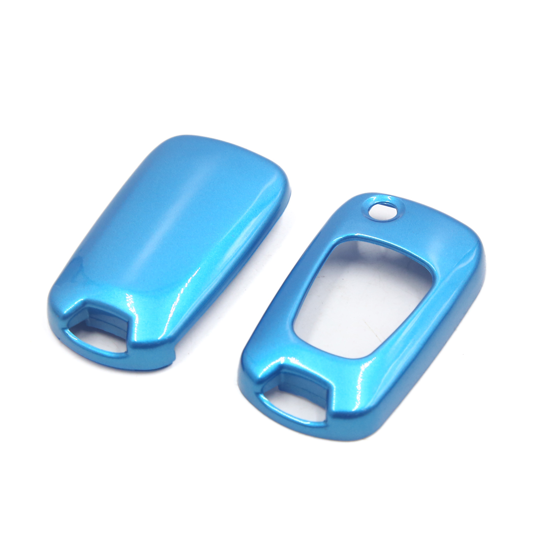 Blue ABS Plastic Car Automobile Remote Key Case Cover Protector for Hyundai