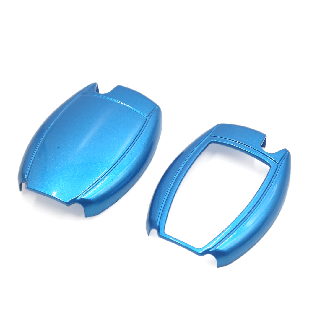 Blue ABS Plastic Remote Key Case Protector for Benz Class B C E S R M CLA CLS