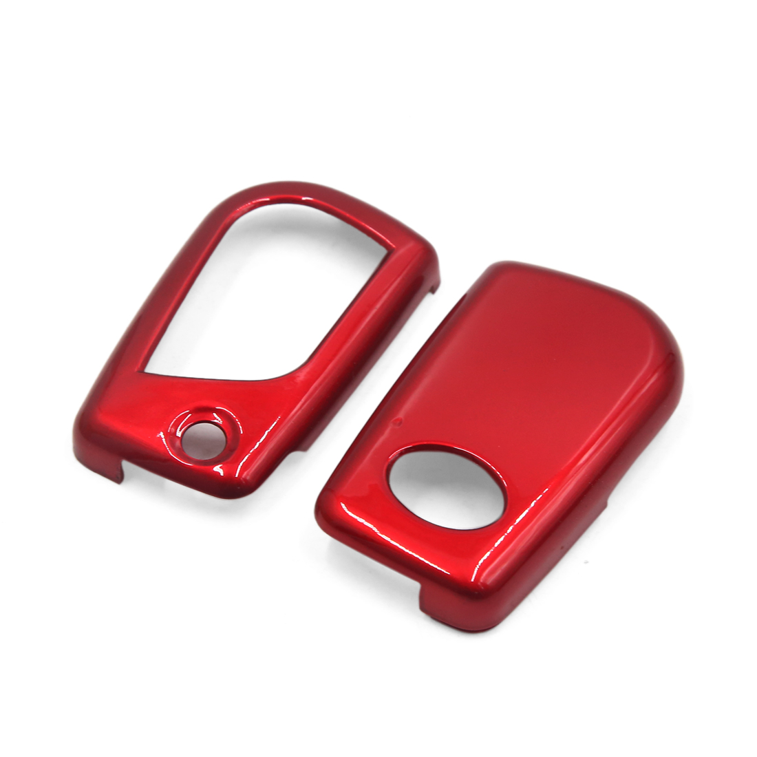 Red ABS Plastic Remote Key Case Protector Cover for Toyota Reiz RAV4 Camry