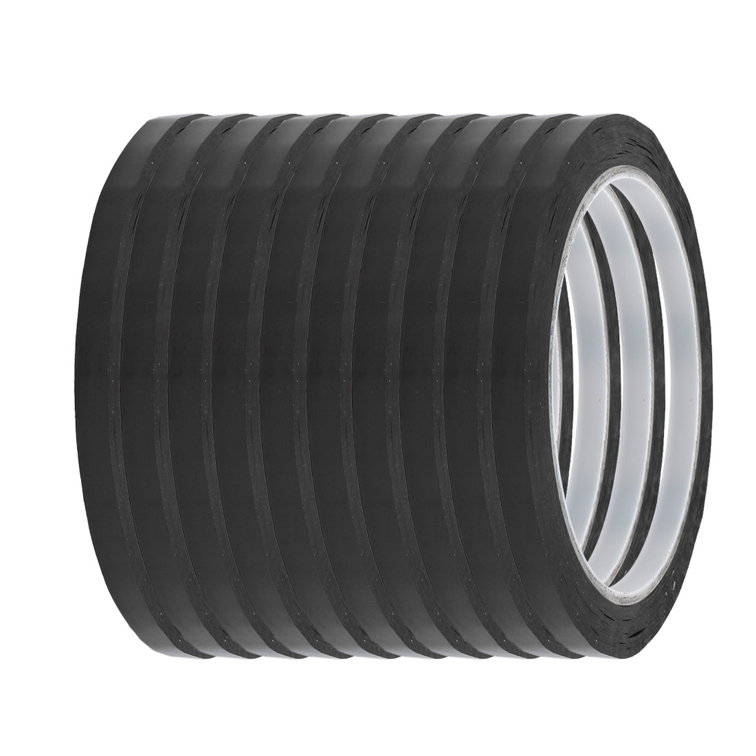 4mm Width 164ft Length Single-side Electrical Insulated Adhesive Tape 10pcs