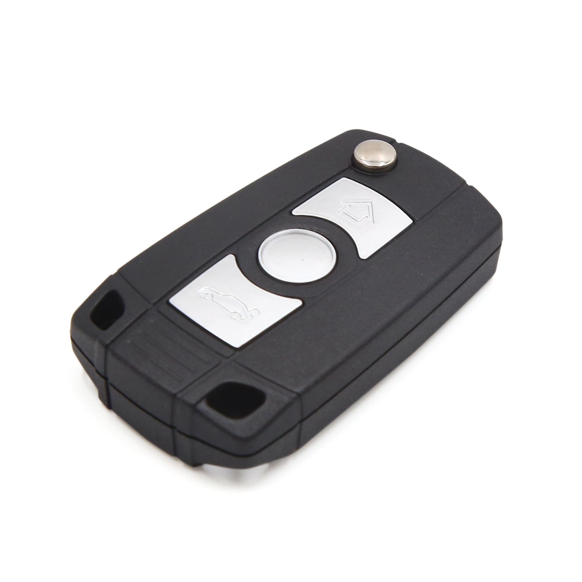 3 Buttons Flip Folding Uncut Key Remote Control Clicker Case Shell for BMW