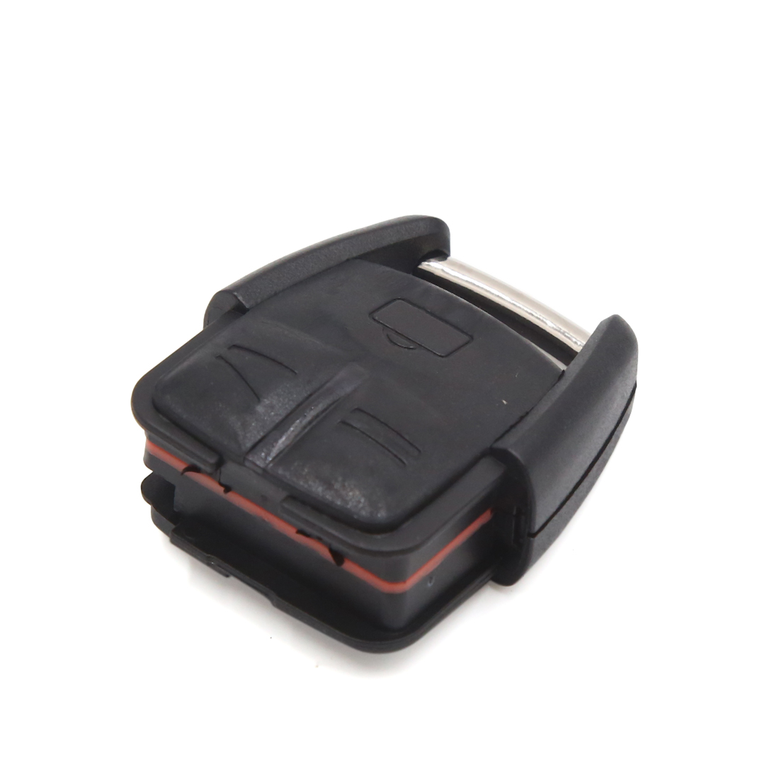Black 3 Buttons Remote Control Fob Clicker Case Shell Replacement for Opel