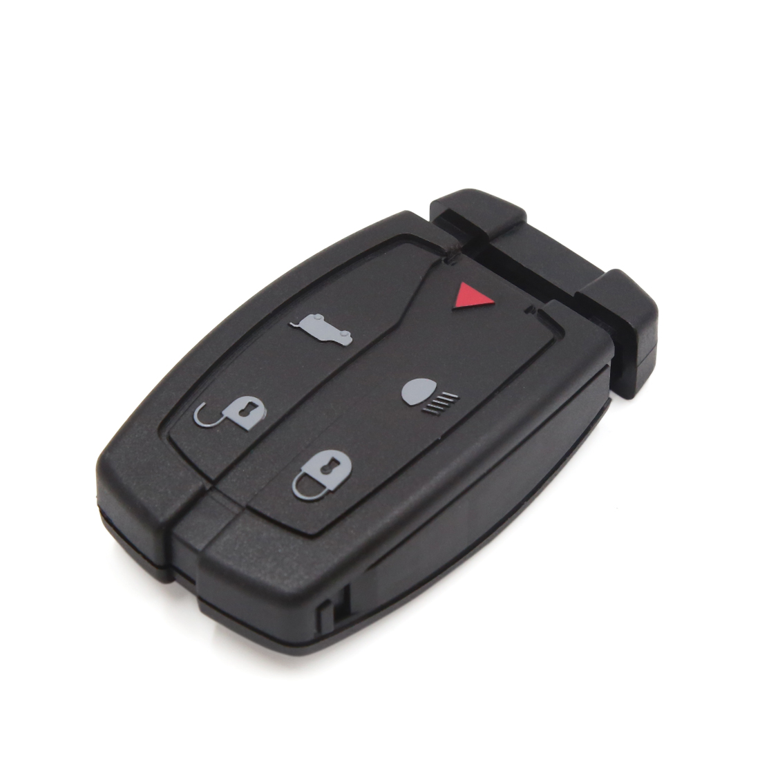 Black 5 Buttons Uncut Key Remote Control Case Fob Clicker Shell for Land Rover
