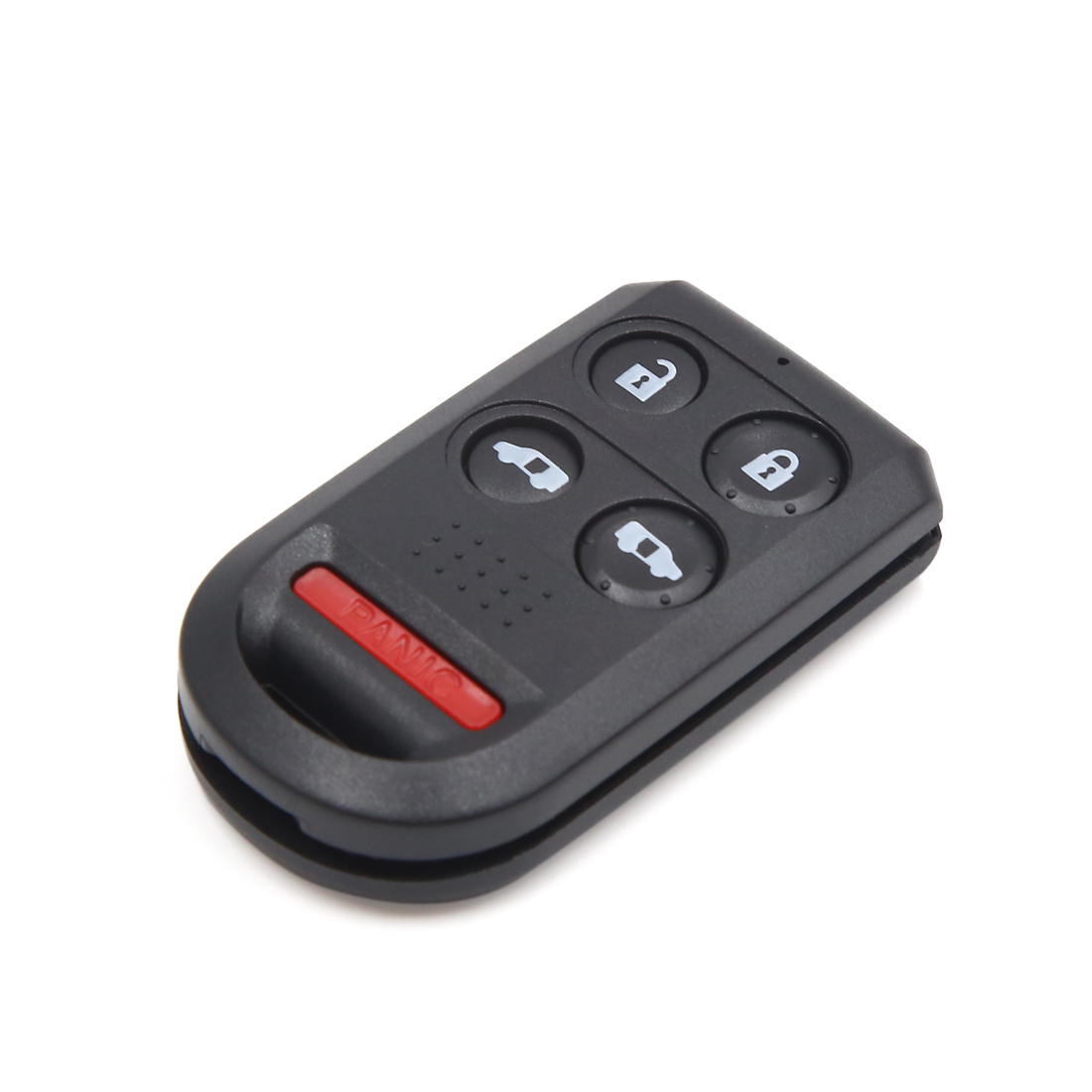Black 5 Buttons Remote Control Fob Clicker Case Shell Replacement for Honda