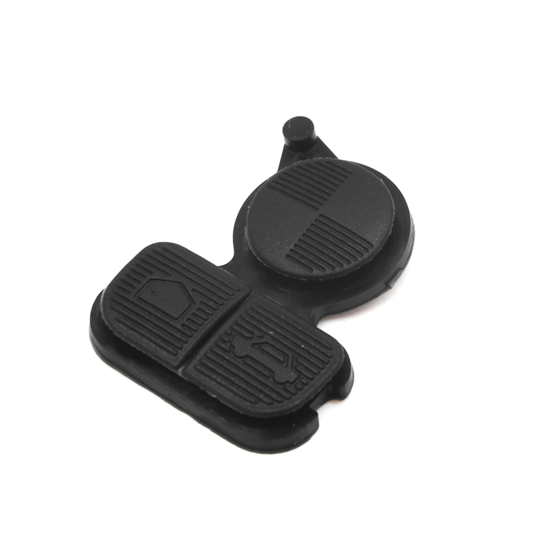 3 Buttons Car Remote Fob Case Insert Rubber Pad Keypad Replacement for BMW