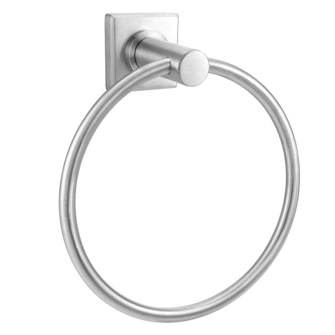 304 Stainless Steel Bathroom Towel Ring Hanger Brushed Finish