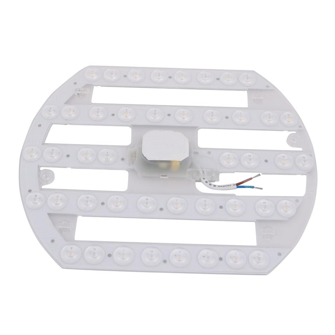 AC 185V-265V 22W LED Ceiling Optical Lens Module Light Board 44-LED 6500K