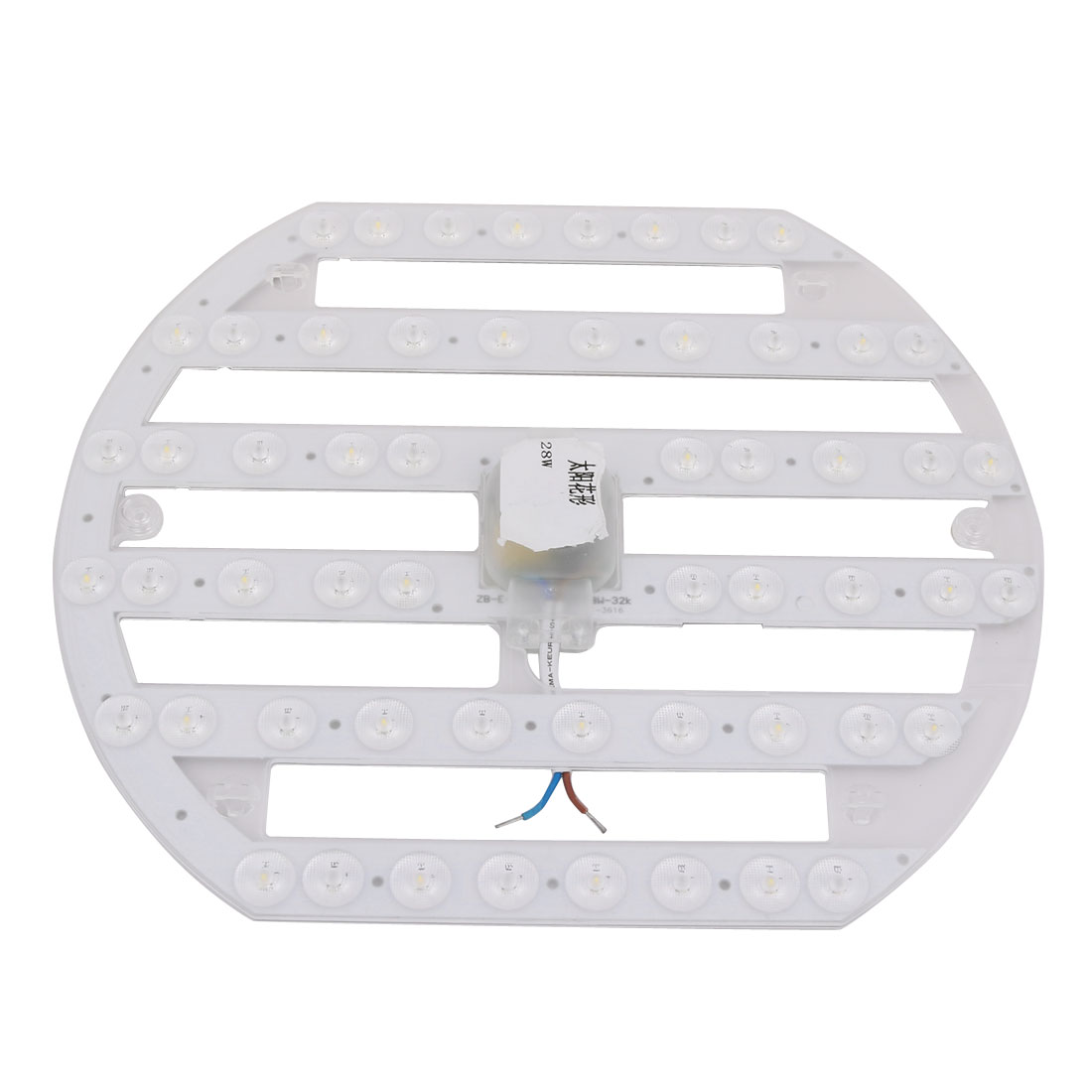 AC 185V-265V 28W LED Ceiling Optical Lens Module Light Board 28-LED 6500K