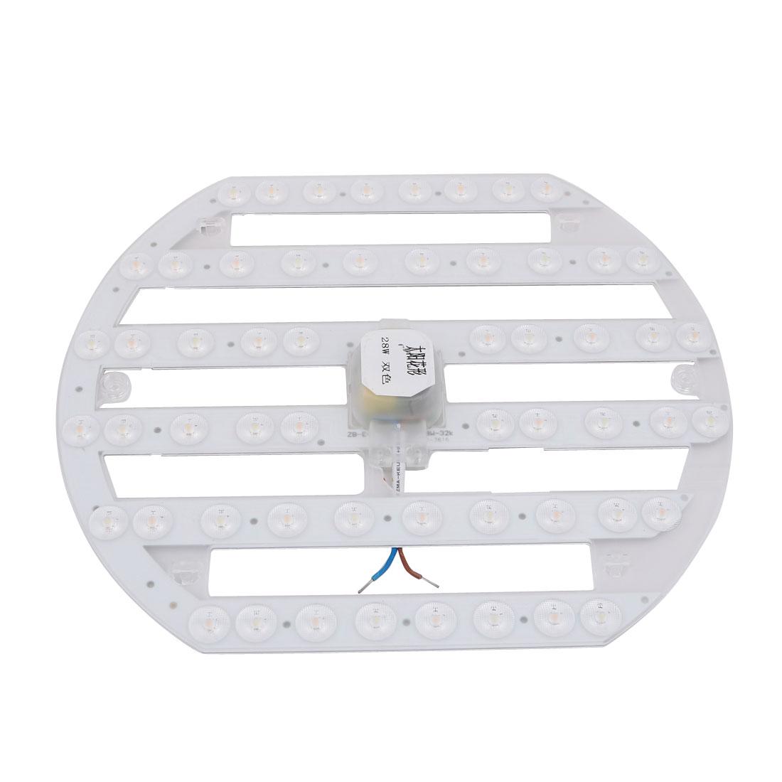 AC 185V-265V 28W LED Panel Ceiling Optical Lens Module Light Board 56-LEDs 4000K