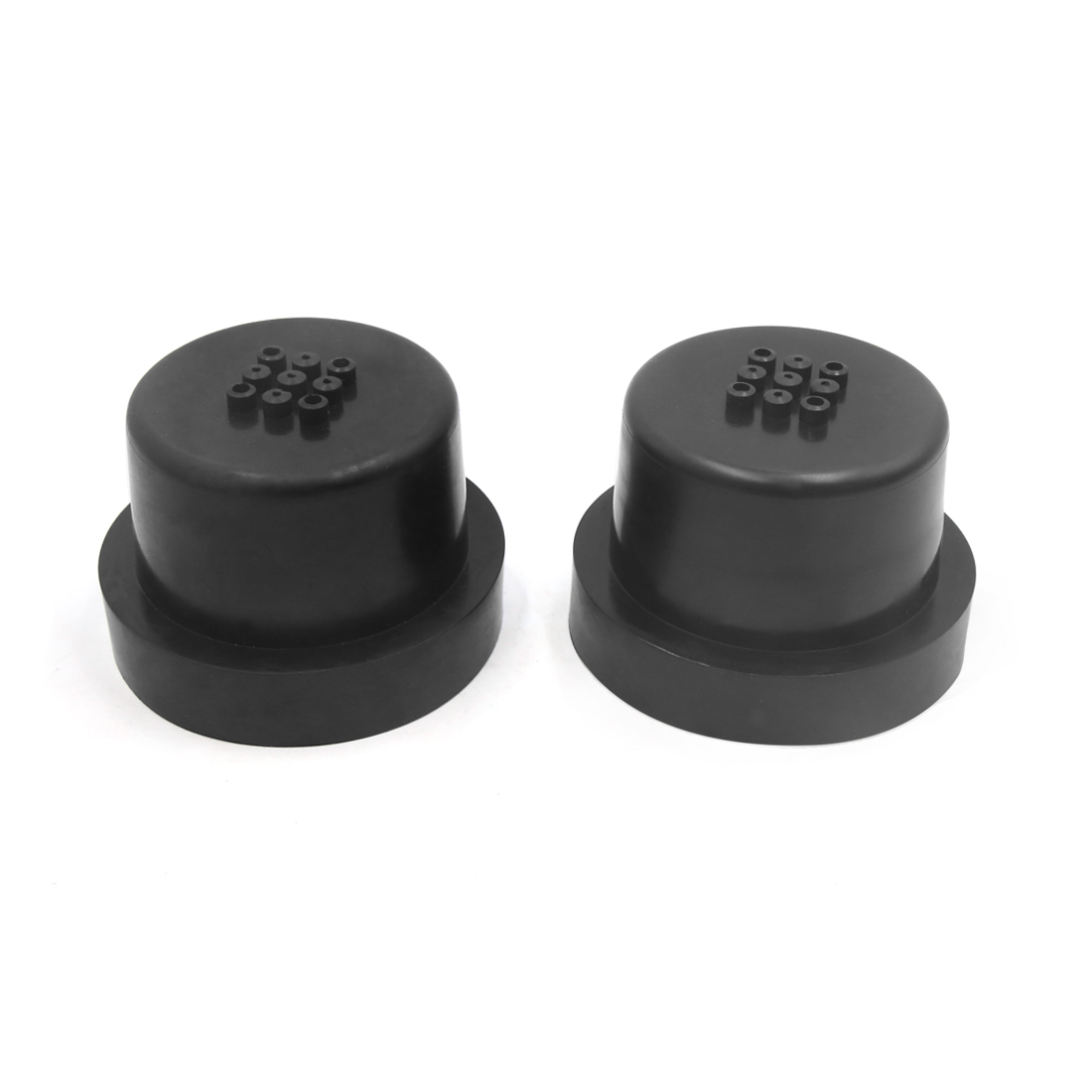2Pcs 90mm Dia Rubber Housing Seal Cap Dust Cover for Car LED HID Headlight