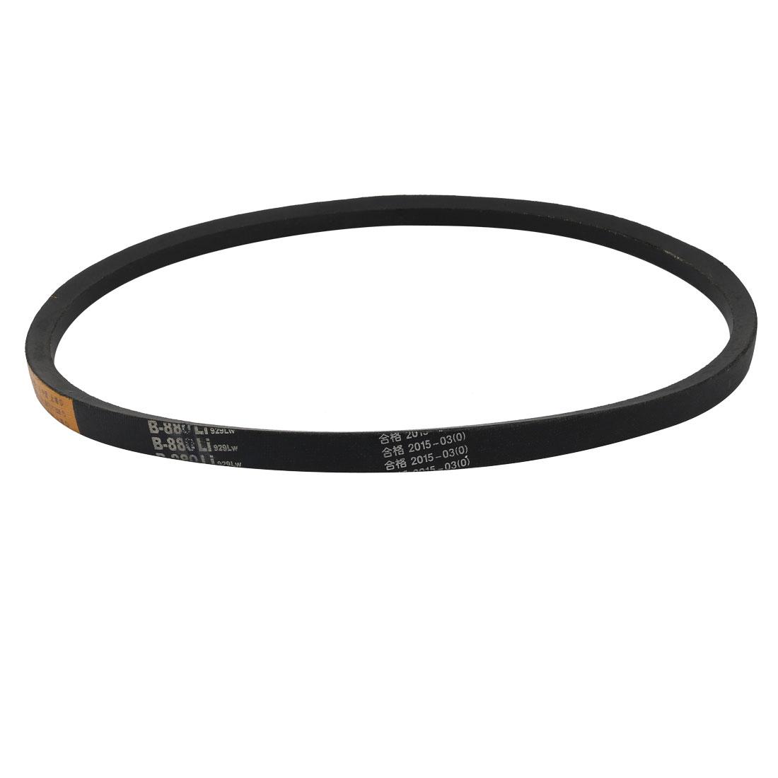 B880 17mm Width 11mm Thickness Rubber Transmission Drive V-Belt