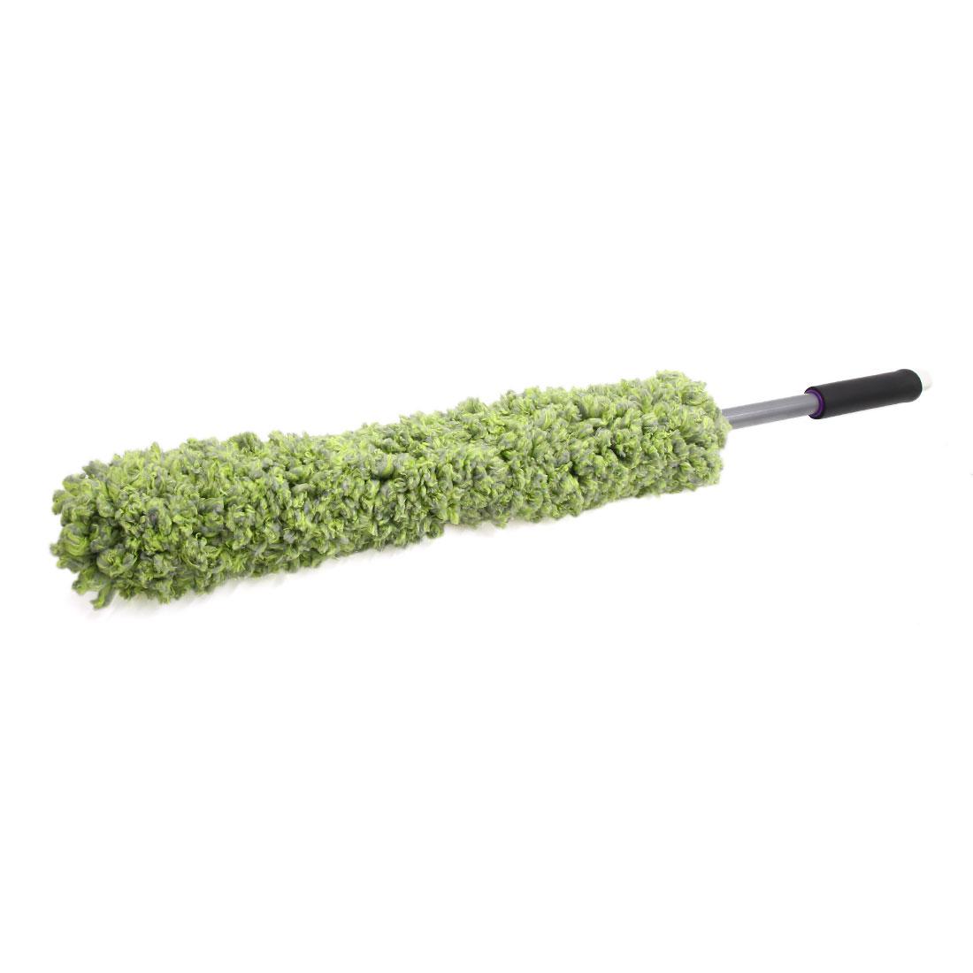 Green Soft Microfiber Plastic Handle Car Duster Dusting Mop Tool