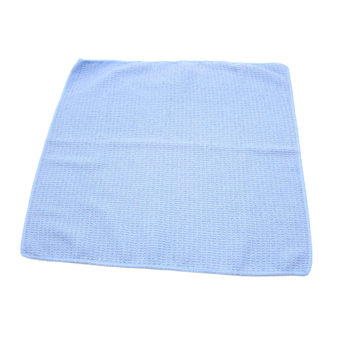 Light Blue Soft Home Auto Car Care Dry Washing Polishing Duster Cloth Towels