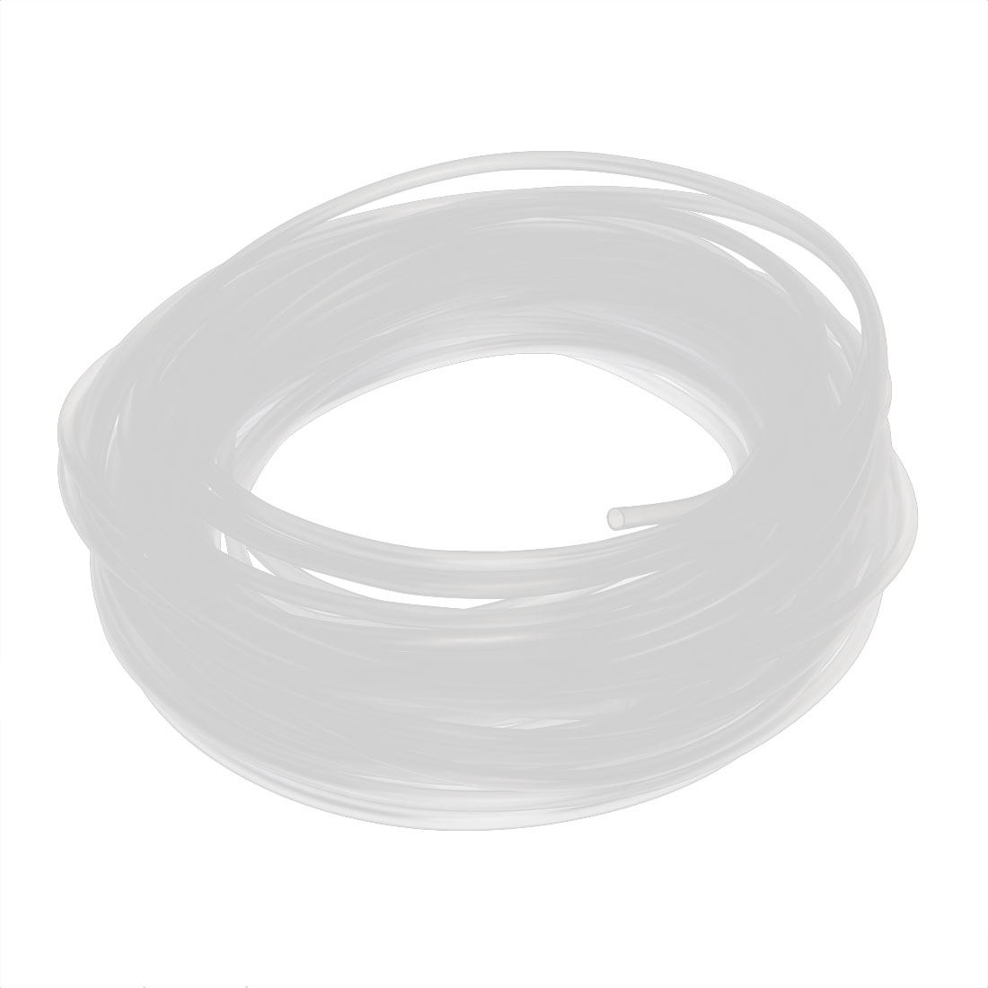 15M Long 2mm Inner Dia. Polyolefin Heat Shrinkable Tube Wire Wrap Sleeve Clear