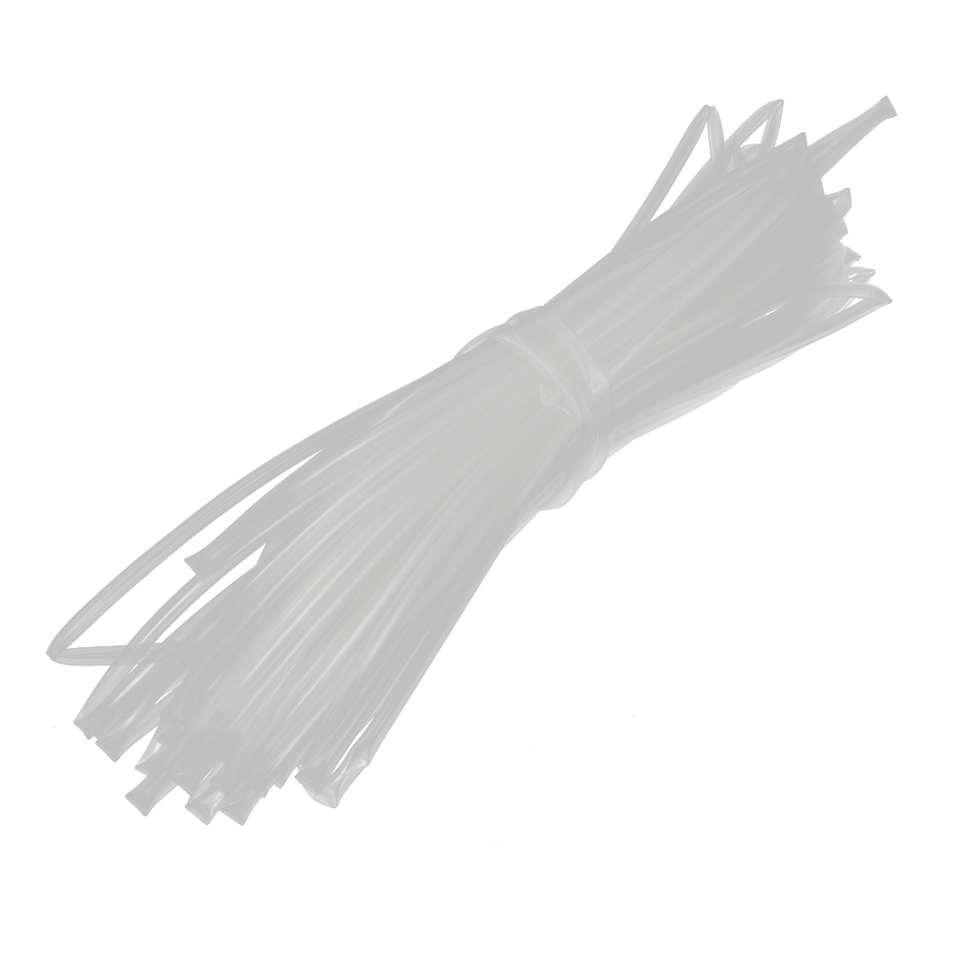 20M Long 4mm Inner Dia. Polyolefin Heat Shrinkable Tube Wire Wrap Sleeve Clear