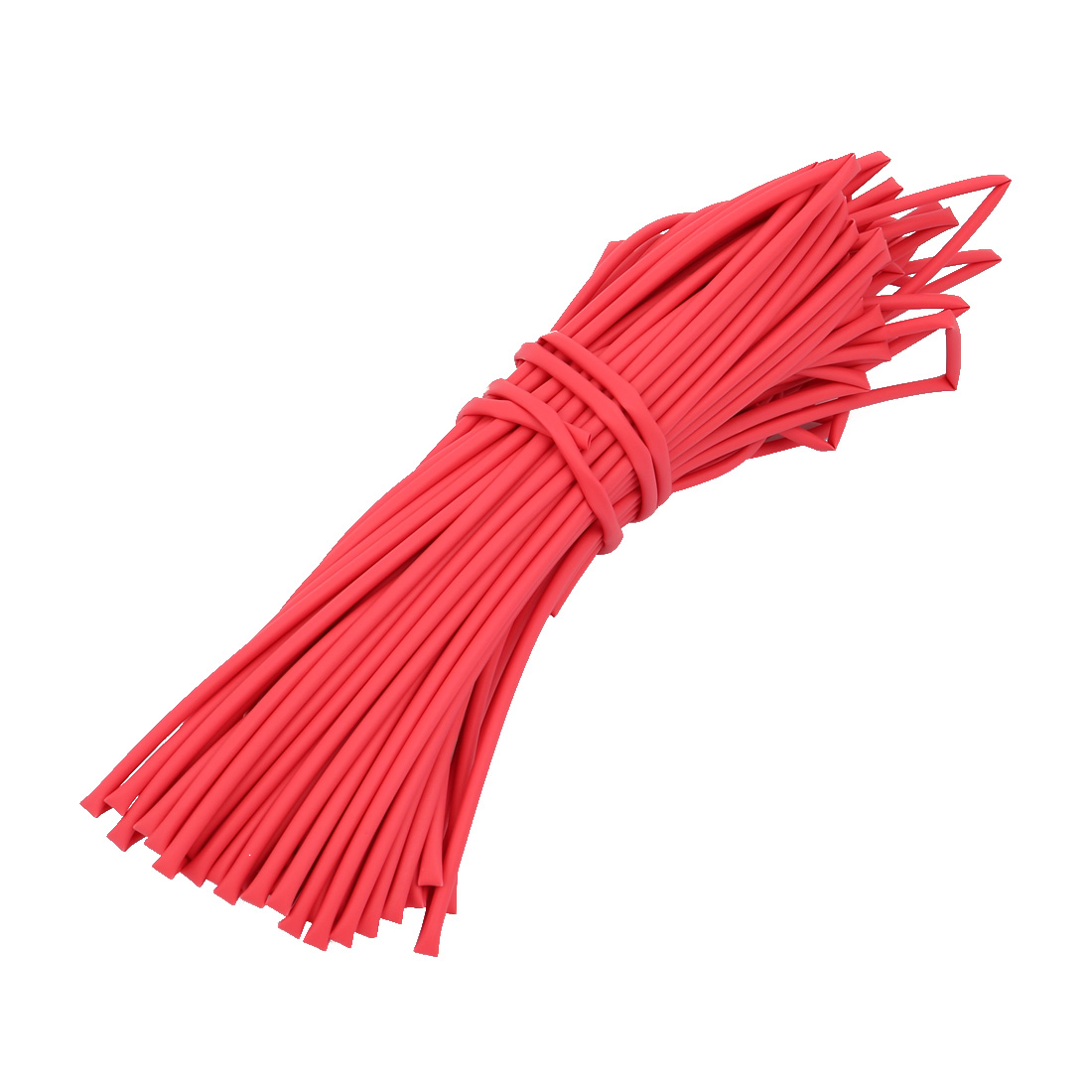 Heat Shrinkable Tube Wire Cable Sleeve 20 Meters Length 2mm Inner Dia Red
