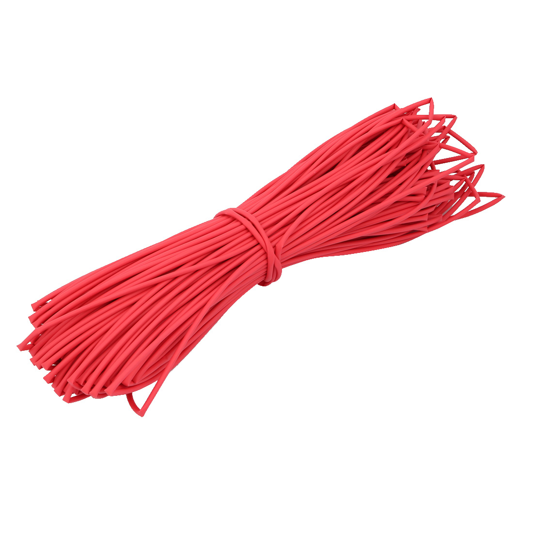 Polyolefin Heat Shrinkable Tube Wire Cable Sleeve 50 Meters Length 2mm Inner Dia Red