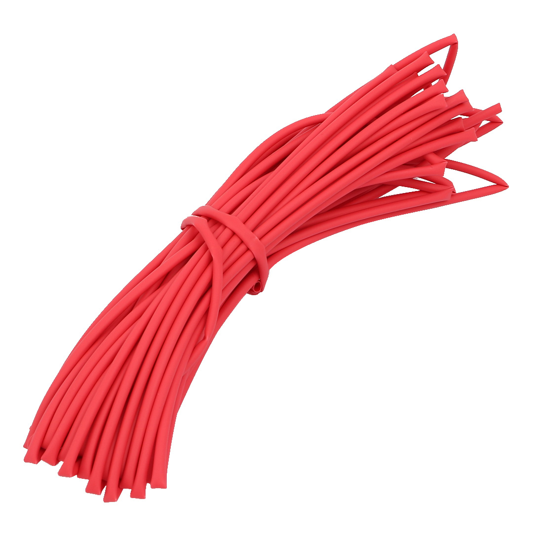 Heat Shrinkable Tube Wire Cable Sleeve 8 Meters Length 1.5mm Inner Dia Red