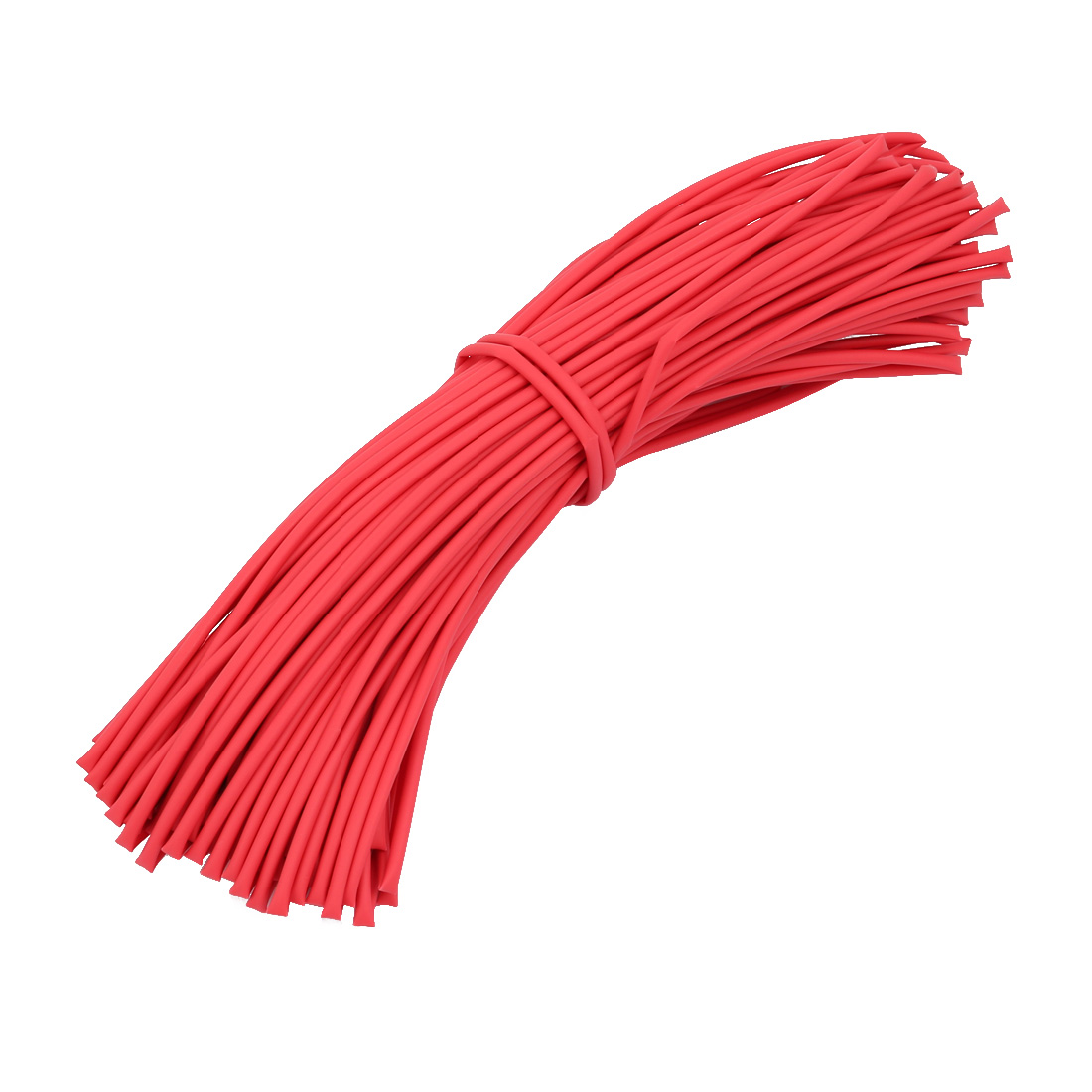 Polyolefin Heat Shrinkable Tube Wire Cable Sleeve 25 Meters Length 1.5mm Inner Dia Red