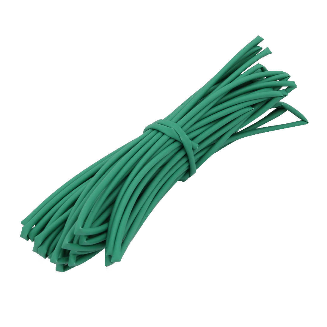 8M 0.06in Inner Dia Polyolefin Flame Retardant Tube Green for Wire Repairing