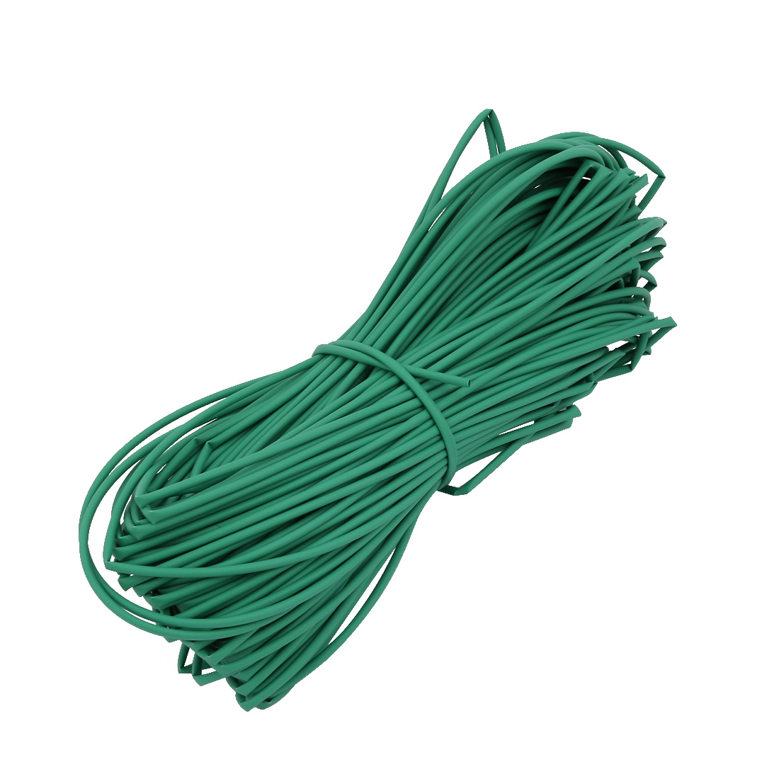 50M 0.06in Inner Dia Polyolefin Flame Retardant Tube Green for Wire Repairing