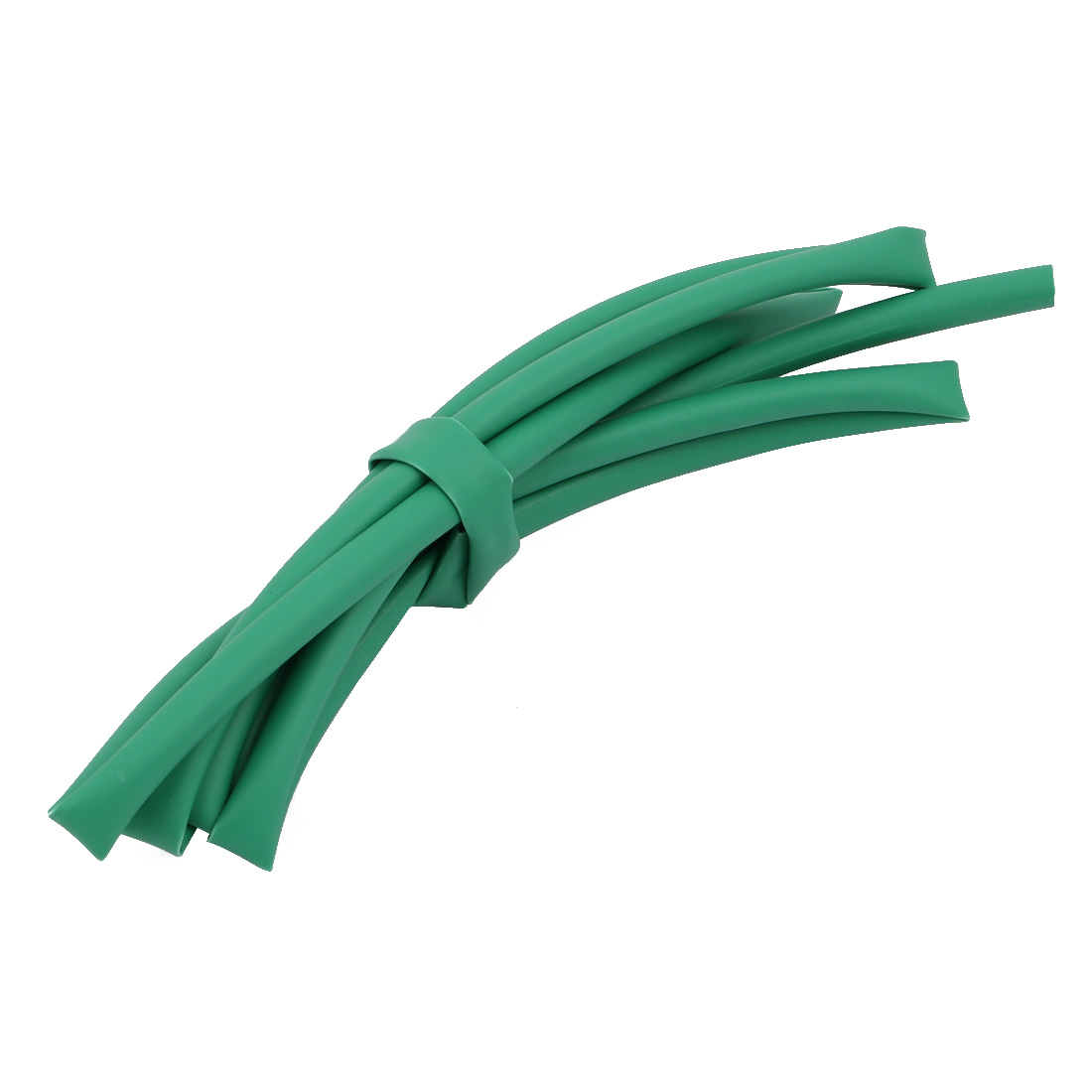 1M 0.18in Inner Dia Polyolefin Flame Retardant Tube Green for Wire Repairing