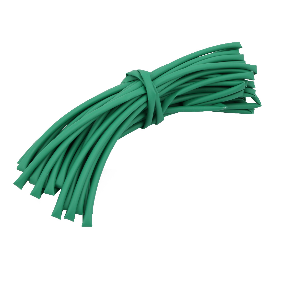 10M 0.18in Inner Dia Polyolefin Flame Retardant Tube Green for Wire Repairing